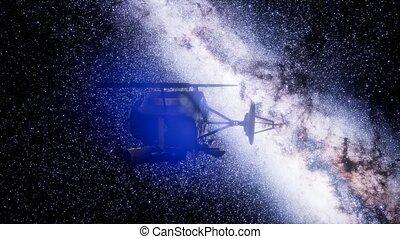 profond, mission espace, impact, sonde