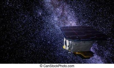 profond, sonde, impact, mission espace