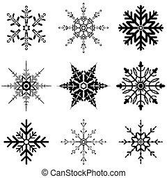 progetta, fiocco di neve