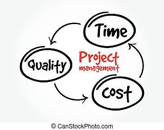 progetto, amministrazione, costo, qualità, tempo
