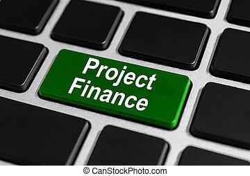 progetto, bottone, finanza, tastiera