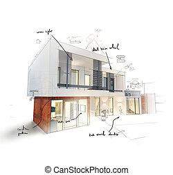 progetto, casa