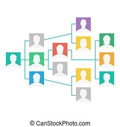 progetto, colleghi, lavorativo, grafico, illustrazione,...
