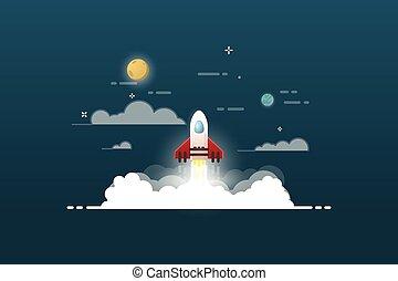progetto, lancio razzo