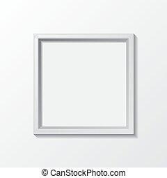 progetto, luce, cornice, oggetto, creativo, realistico, vettore, disegno, vuoto, bordo, tuo, fondo