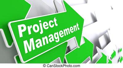 progetto, management., affari, concept.