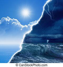 prognos, väder
