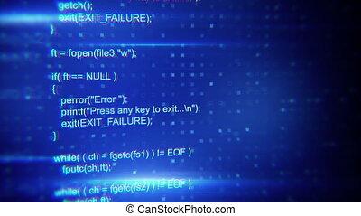 program code seamless loop background