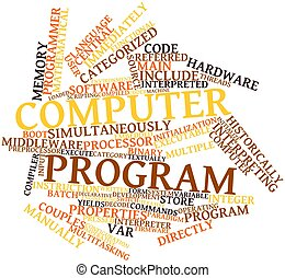 programa, computadora