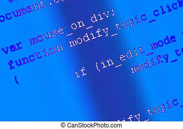 programación, código, plano de fondo