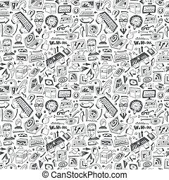 programación, computadoras, -, seamless, plano de fondo