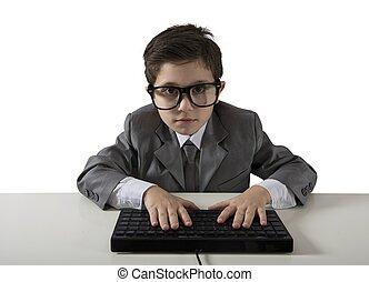 programador, jovem