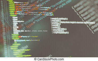 programing code background.