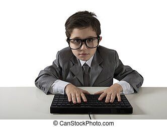 programista, młody