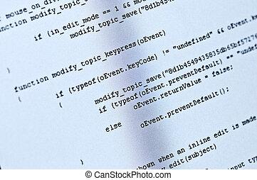 programm, code