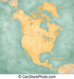 programma america nord, -, vuoto, mappa