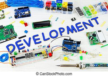 programmation ordinateur, microélectronique