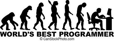 programmerare, utveckling