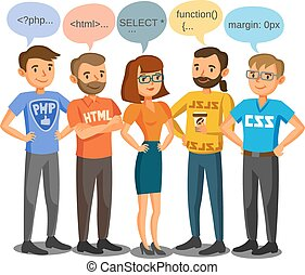 programmeurs, entrepreneurs, collaboration