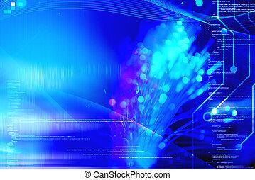 programmierung, und, technologie