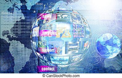 Programming Internet website