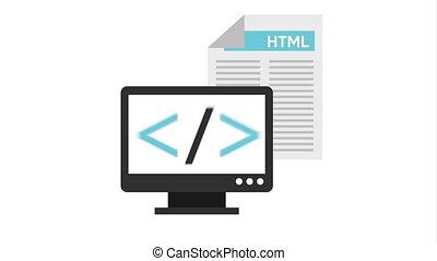 programming language with desktopanimation - programming...