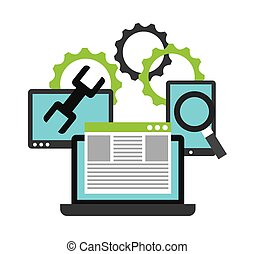 programming software design, vector illustration eps10...