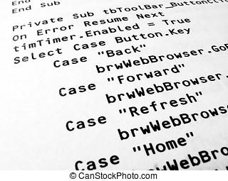 Programming Source Code - Computer programming Source Code