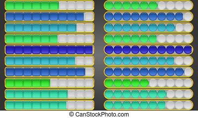 Progress Bars, Seamless Loop