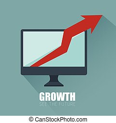 progress business growth arrow icon