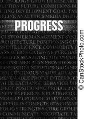 Progress in Business as Motivation in Stone Wall