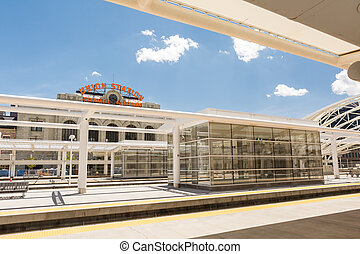 Progress of redevelopment of Union Station in Denver.