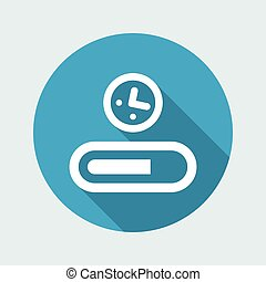Progression bar icon
