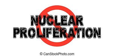 prohibición, nuclear, proliferación