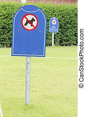 prohibit dog