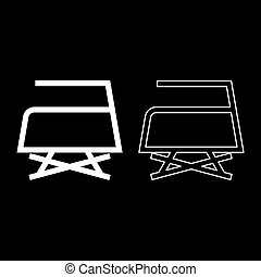 Prohibited Ironing is not allowed with steam Clothes care symbols Washing concept Laundry sign icon outline set white color vector illustration flat style image