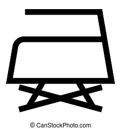 Prohibited Ironing is not allowed with steam Clothes care symbols Washing concept Laundry sign icon black color vector illustration flat style image