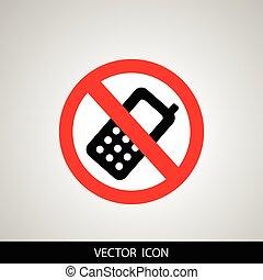 Prohibited phone
