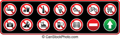 Prohibited Signs. Sticker