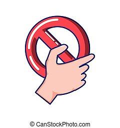 prohibited symbol isolated icon vector illustration design