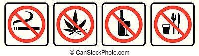 prohibition, collection, signe