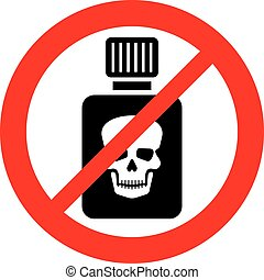 (prohibition, gift, zeichen, flasche, erlaubt, not, icon)