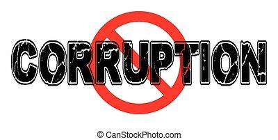 proibição, corrupção