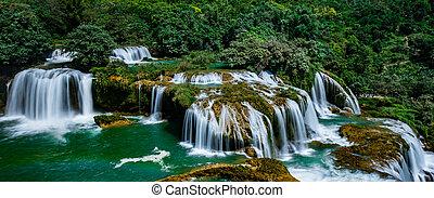 proibição, gioc/detian, cachoeira