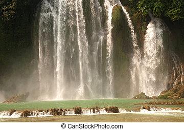 proibição, Vietnã, Cachoeira,  gioc