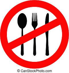 proibidas, comer