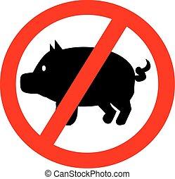 proibidas, porcos
