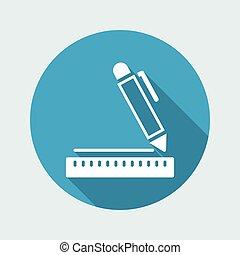 Project design concept icon