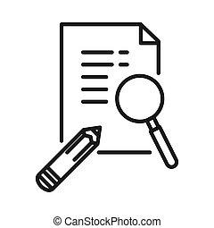 project detail vector illustration design