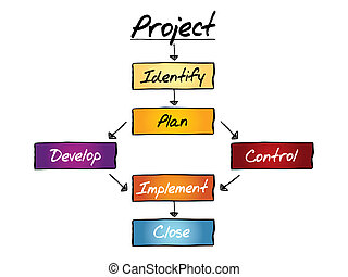 PROJECT flow chart, business